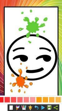 coloring book for emoji coloring kids spider screenshot 1