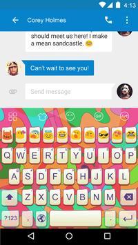 Colorful -Video Emoji Keyboard poster