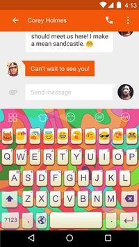 Colorful -Video Emoji Keyboard apk screenshot