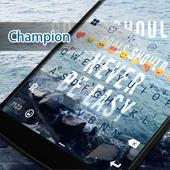 Champion Eva Keyboard -Diy Gif icon