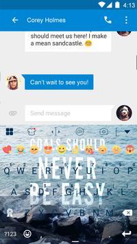 Champion Eva Keyboard -Diy Gif apk screenshot