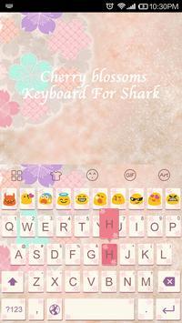 Cherry Blossoms-Emoji Keyboard apk screenshot