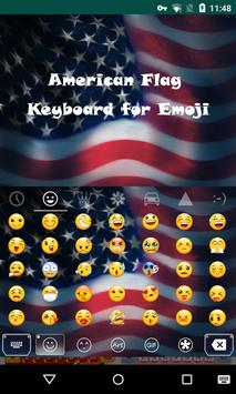 American Emoji Keyboard apk screenshot