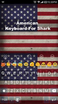 American -Love Emoji Keyboard poster