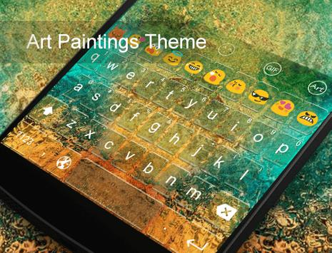 Art Painting-Emoji Keyboard screenshot 3