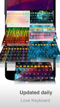 Beautiful Hand -Love Keyboard apk screenshot