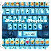 Blue Lace Emoji Keyboard icon