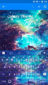Galaxy Eva Keyboard Theme -Gif apk screenshot