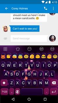 Glare -Video Emoji Keyboard poster