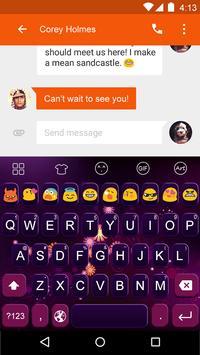 Glare -Video Emoji Keyboard screenshot 1