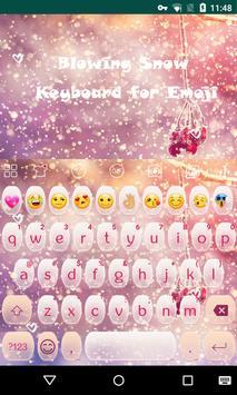 snow emoji keyboard poster
