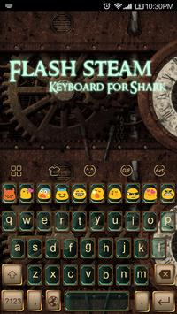 Flash Steam -Video Keyboard poster