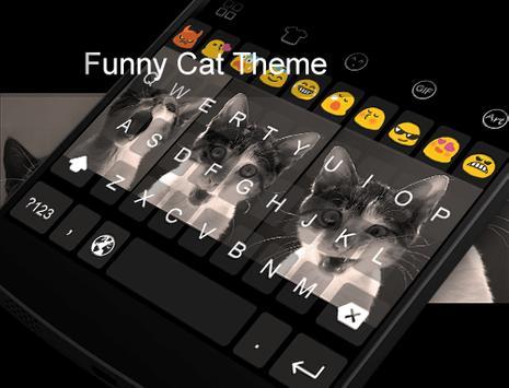 Funny Cat -Kitty Keyboard apk screenshot