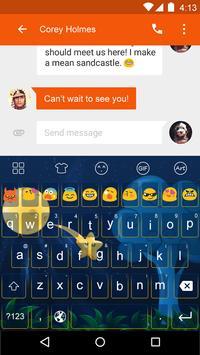 Interstellar -Emoji Keyboard poster