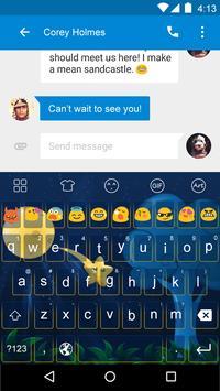 Interstellar -Emoji Keyboard screenshot 1