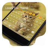 Lovely Cat -Emoji Keyboard icon