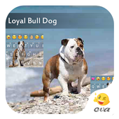 Loyal Bull Dog Emoji Keyboard icon