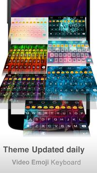 Light Color Emoji keyboard screenshot 5