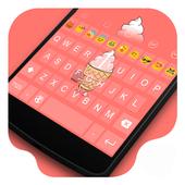 Stool Ice-cream Kitty Theme icon