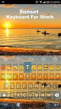 Sunset -Kitty Emoji Keyboard screenshot 1