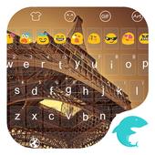 Dark Paris Emoji Keyboard icon