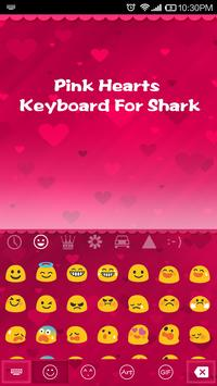 Pink Hearts Emoji Keyboard screenshot 2