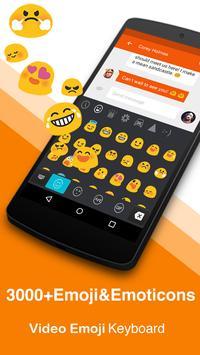 Lovely Pink Cat-Emoji Keyboard apk screenshot