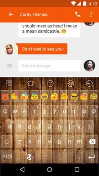 Plank -Video Chat Keyboard poster