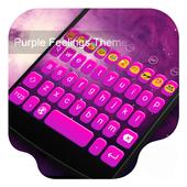 Purple Feelings-Emoji Keyboard icon