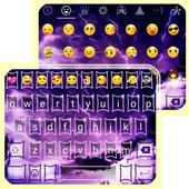 Purple Flash Light Emoji Theme icon