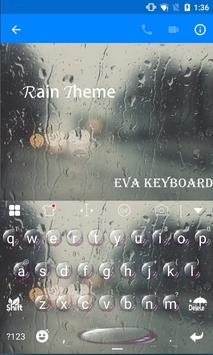 Rain Eva Keyboard -DIY Gifs apk screenshot