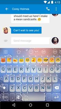 Water -Kitty Emoji Keyboard screenshot 2
