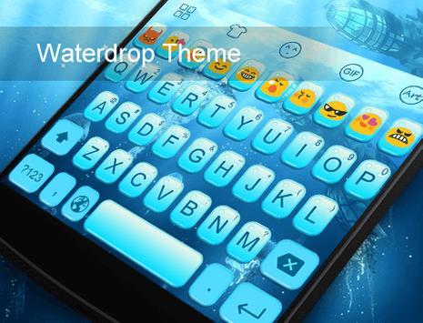 Deep Sea World Emoji Keyboard poster
