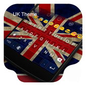 UK Theme -Kitty Emoji Keyboard icon