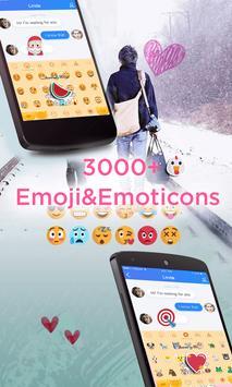 Yellow Cat Emoji Keyboard-Gifs screenshot 1