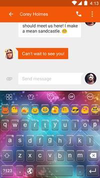 Color sparks -Emoji Keyboard apk screenshot