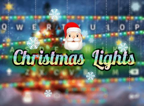 Happy Christmas Emoji Keyboard poster