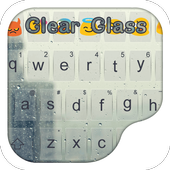 Clear Glass City-Gifs Keyboard icon