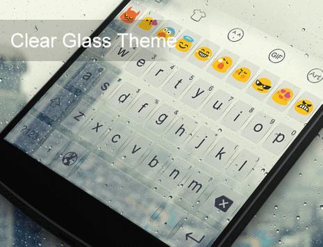 Clear Glass City-Gifs Keyboard screenshot 4