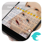 Baby Theme-Love Emoji Keyboard icon