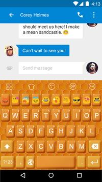 Bee Nest -Love Emoji Keyboard poster