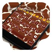 Brown Block-Love Gifs Keyboard icon