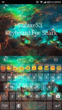 Galaxy Cloud Emoji Keyboard apk screenshot