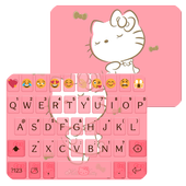 Sweet Kitty Emoji Keyboard icon
