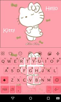 Sweet Kitty Emoji Keyboard apk screenshot