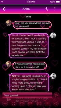 Neon Keyboard Theme -Emoji Gif screenshot 4