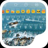 Ocean -Kitty Emoji Keyboard icon
