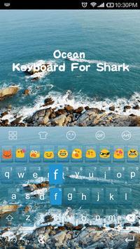 Ocean -Kitty Emoji Keyboard screenshot 3