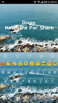 Ocean -Kitty Emoji Keyboard screenshot 2