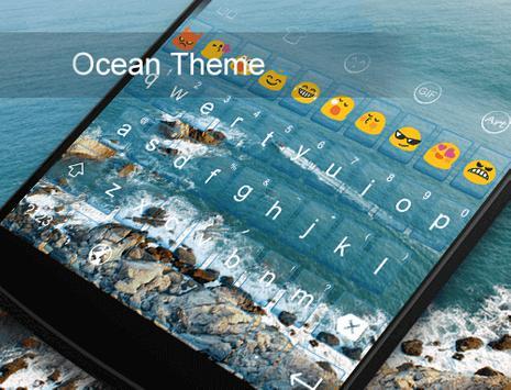 Ocean -Kitty Emoji Keyboard screenshot 4